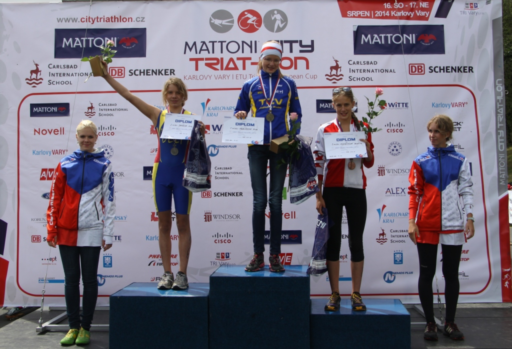 Julia Sanecka zajęła drugie miejsce podczas zawodów Oyimpic Hopes w Karlovych Varach 16 sierpnia 2014 roku
