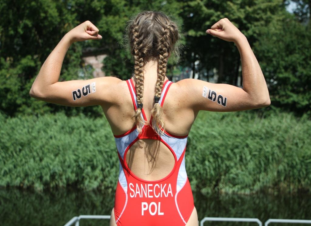 Julia Sanecka triathlonistka