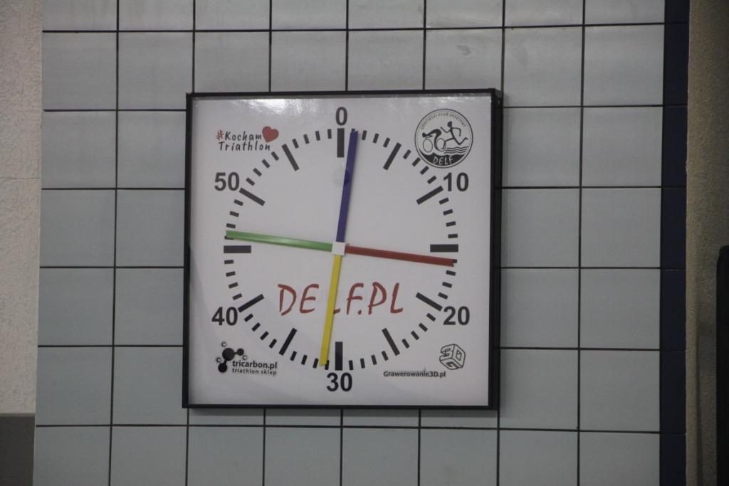 zegar treningowy Delfa