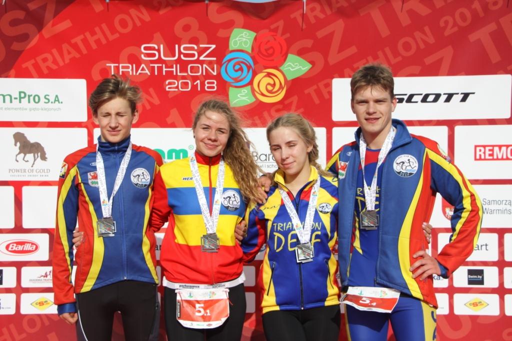 Oliwia Podolak, Julia Sanecka, Dawid Heda, Bartosz Jasiulewicz