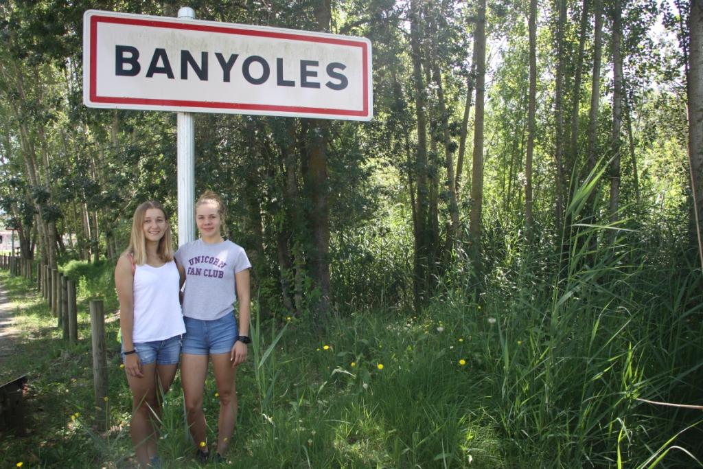 Julia Sanecka i Natalia Zych w Banyoles 2018