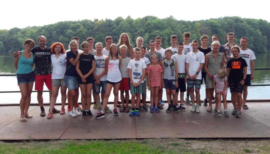 Grupa Delfa, która trenuje w Wałczu 2018 roku