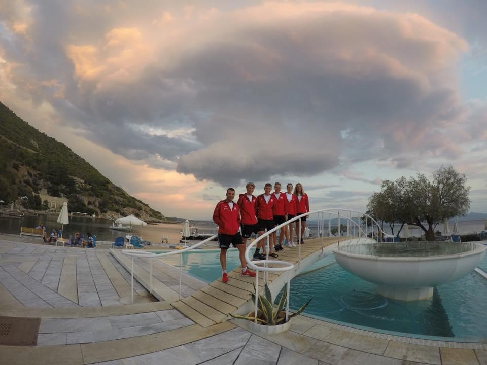 Reprezentacja Polski na ME Youth w Loutraki w Grecji 2018