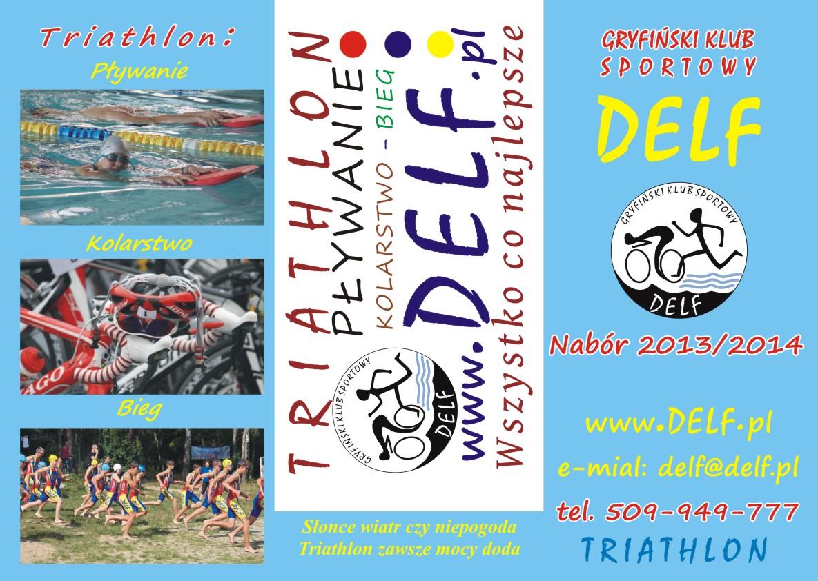 Ulotka reklamowa Delf do naboru 2013 roku_awers